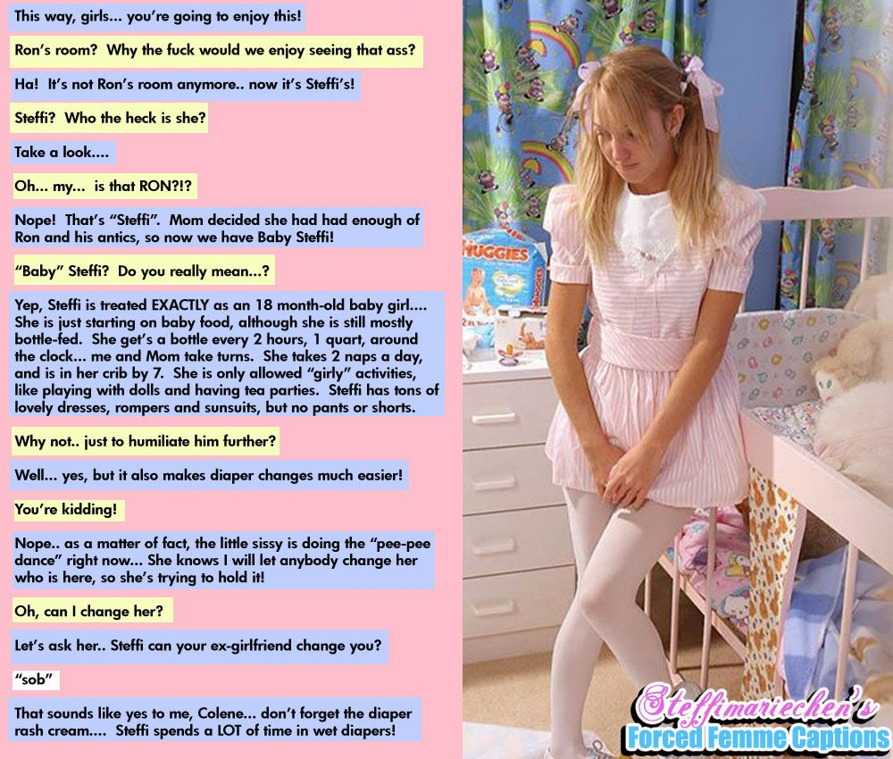 Tg, Tf, Sissy, Humiliation, And More Captains Mean Mom  Diapers In