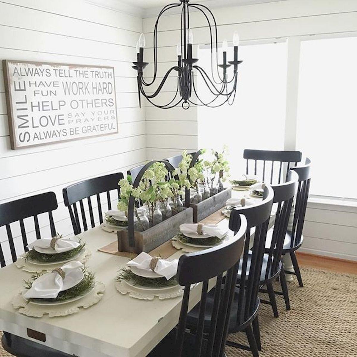9 Stunning Modern Farmhouse Dining Room Table Ideas Decor And ...