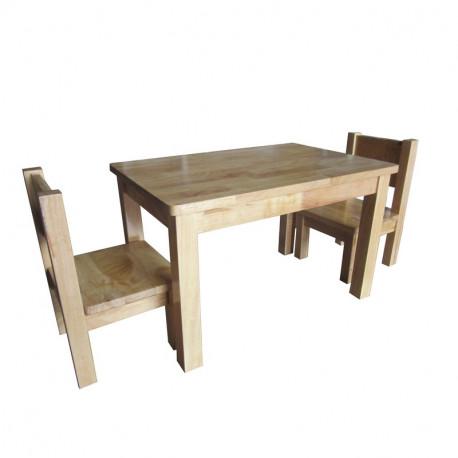 Ma Premiere Table Basse Petit Enfant Bois Massif Naturel Bebe Montessori Table Salle A Manger Bois Table Et Chaises