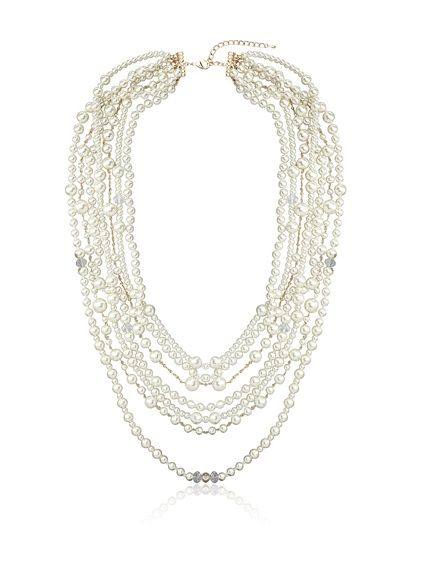 Womens Multi-Strand Snake-Chain Necklace Kenneth Jay Lane GWJWd