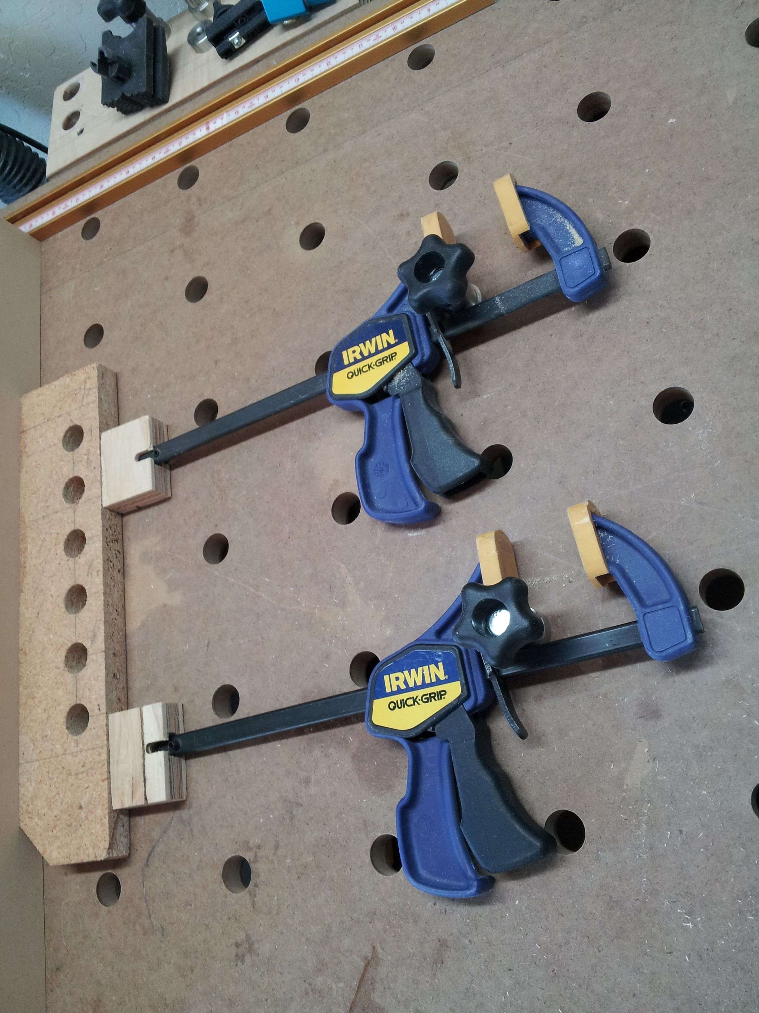 Poor Man S Clamping Element Festool Jigs And Tool