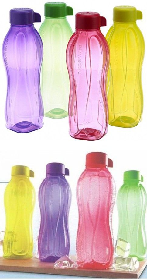 Tupperware Eco Sports 1 Litre Aqua Safe Water Bottle Set Of 4 32 Oz Water Bottle Safe Aqua Safe Water Bottle