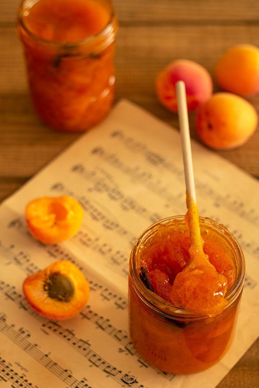 Confiture D'abricot Sans Sucre : confiture, d'abricot, sucre, Confiture, D'abricots, Recette, Sucre, Maison,, Sucre,