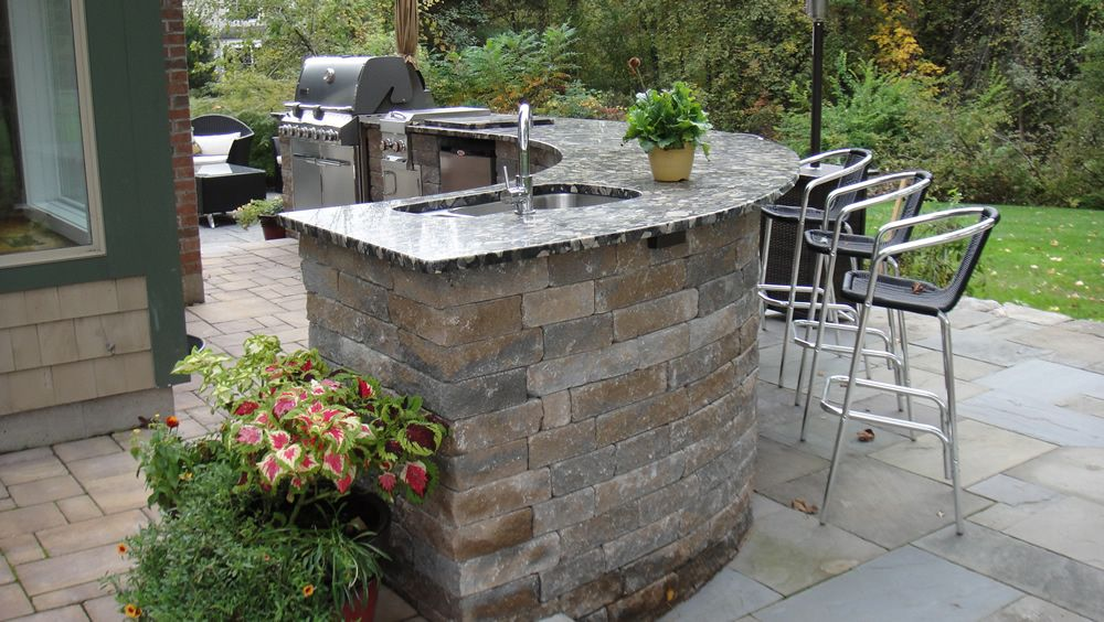 Outdoor Bar Ideas Outdoor Kitchen Designs Ideas Patio Deck Porch Idea