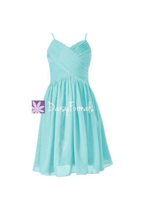 Robin Egg Blue Flower Girl Dress
