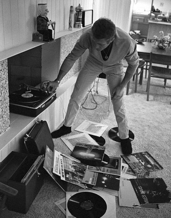 Steve Mcqueen In Palm Springs His Hollywood Home 1963
