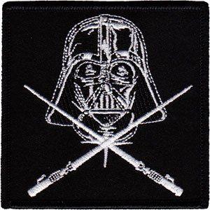 Application Star Wars Vader Crossed Light Sabers Patch
