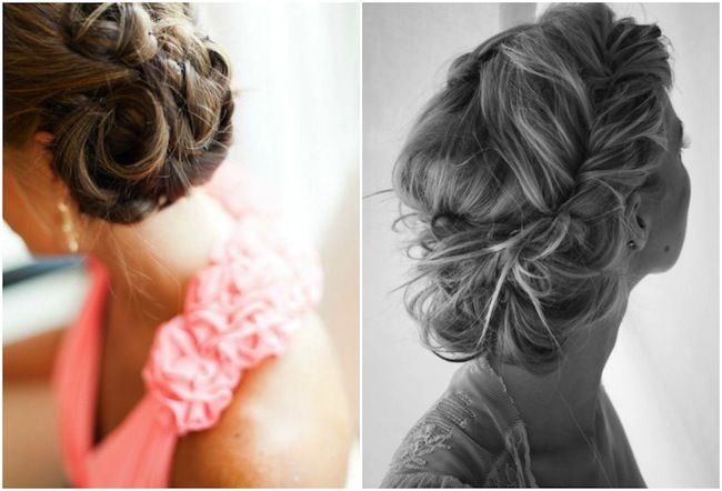Magnificent 1000 Images About Bridesmaids Hair Ideas On Pinterest Partial Hairstyles For Men Maxibearus