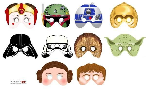 photograph relating to Star Wars Printable Masks named The Star Wars Printable Masks Lego Star Wars Occasion inside of 2019