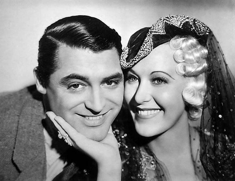 "Cary Grant and Grace Moore – ""When You're in Love"", 1937."