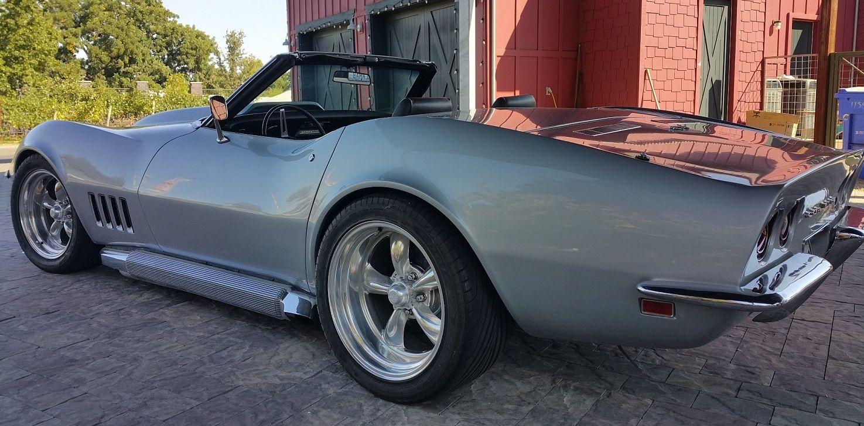 Image result for 1969 corvette convertible resto mod   C3