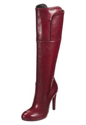 Platåstøvler - rød