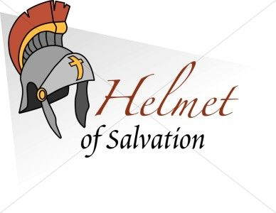 Image result for picture of the helmet of salvation Bible