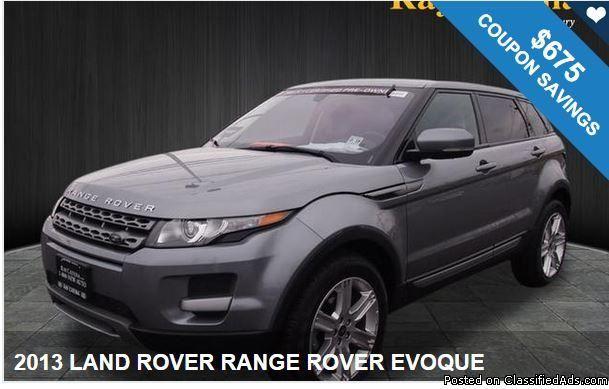 2013 Land Rover Range Rover Evoque 675 In Coupons Big Savings Available Land Rover Range Rover Range Rover Evoque