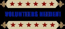 Volunteers needed!