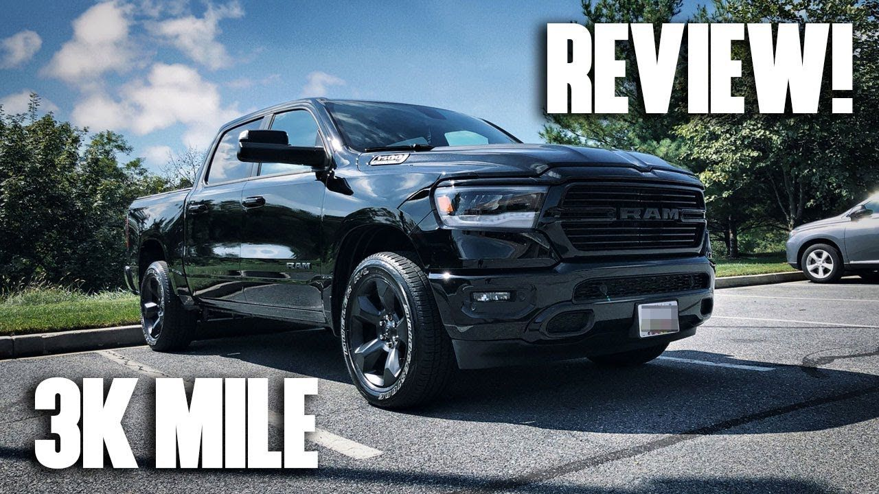 3,000 Mile Review! 2019 RAM 1500 5.7L HEMI Truck (Laramie