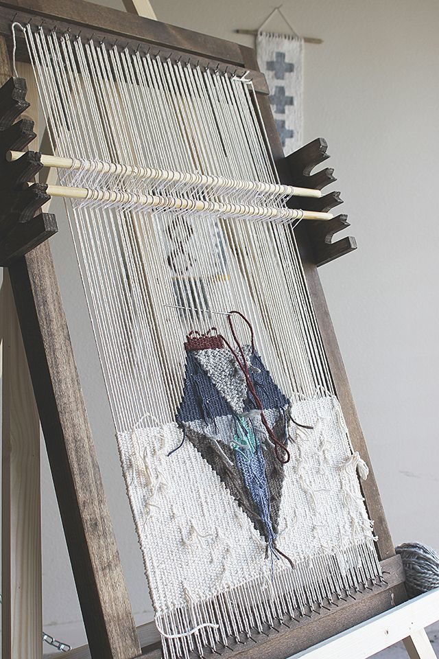 Weaving How To: Setting Up Heddle Rods & Leashes | Weben, Favoriten ...