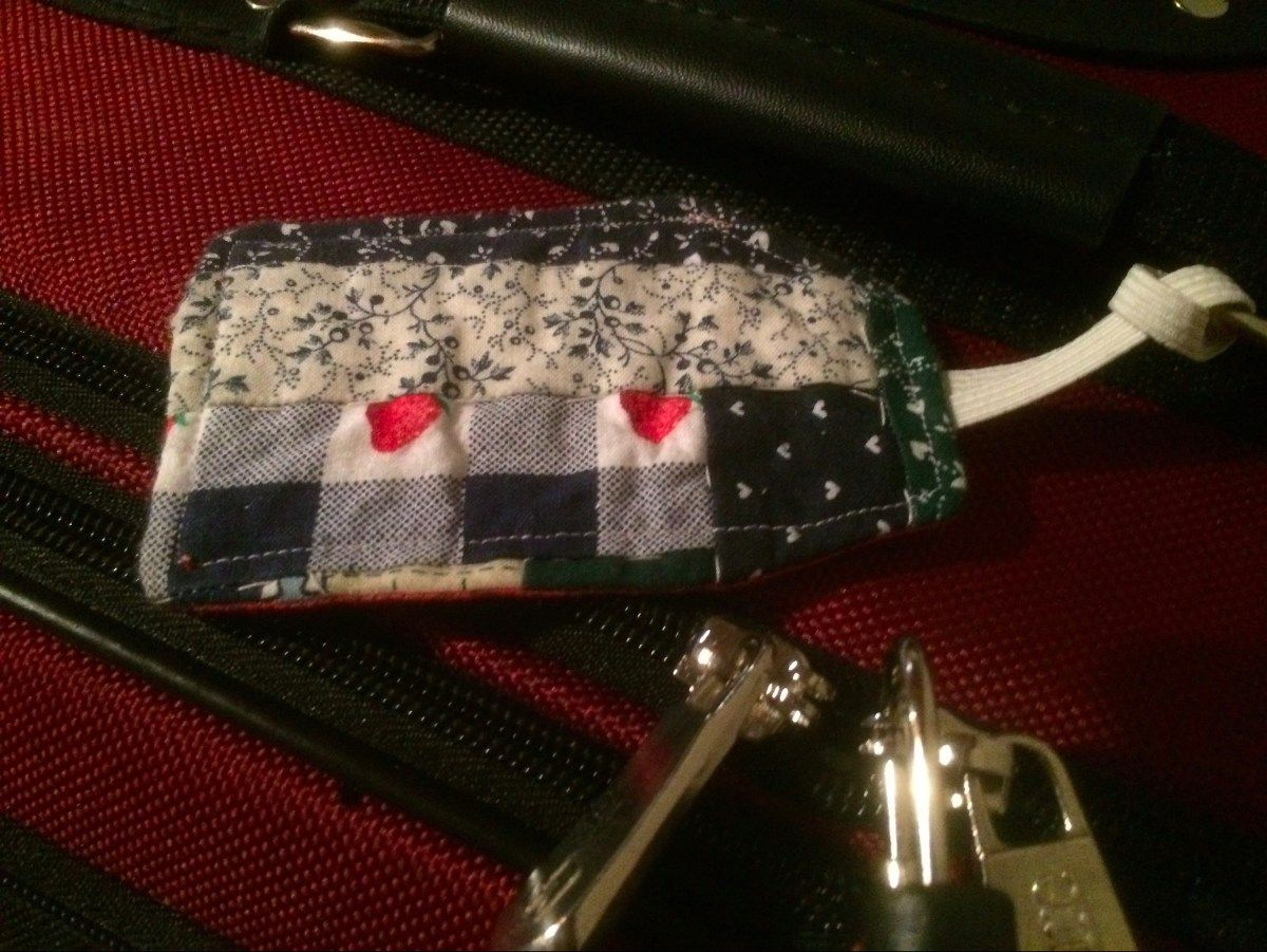 Luggage Tags - Quilted With Love | Craft Projects | Pinterest ... : quilting luggage tags - Adamdwight.com