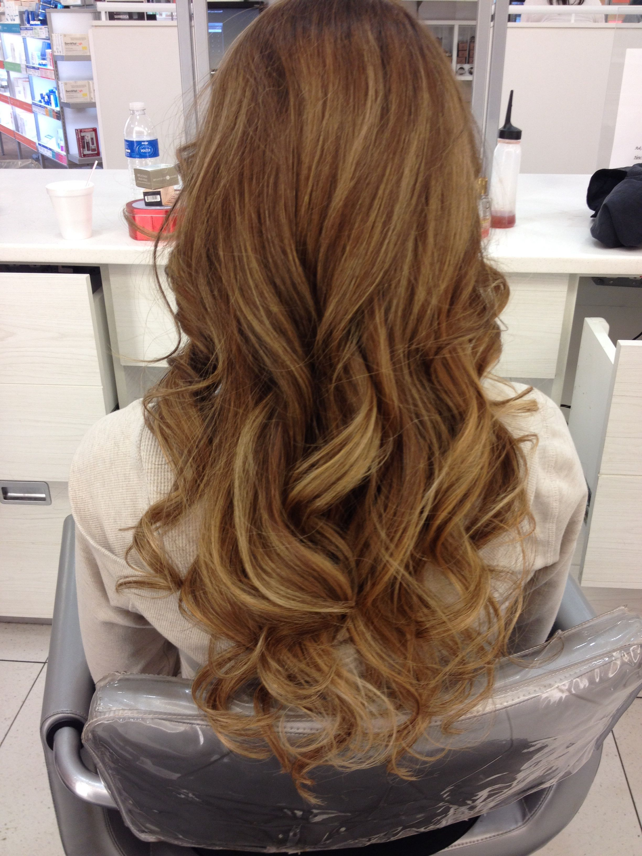Soft Highlights Babylights Highlight Ombre Hair Hair Pinterest