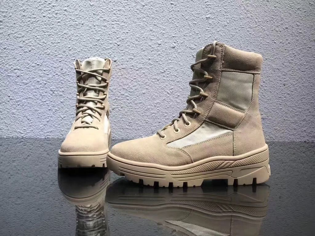 Suede Army Boots – BKI BEN Collection
