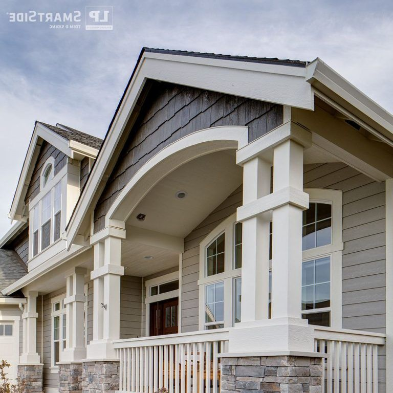 Lp Smartside Colors With Craftsman Exterior Also Engineered Wood Fascia Louisiana Pacific Lp Lp