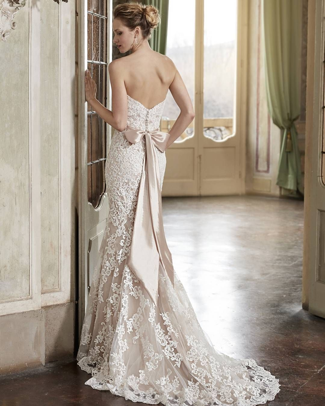 Wedding dress for your body  Just a touch of satin can add that elegant finish youure looking for