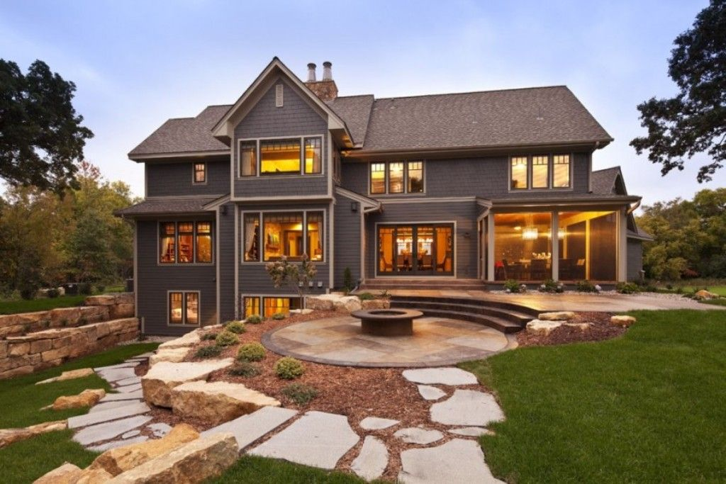 Inspiring Modern Rustic Homes Country Modern Home Contemporary