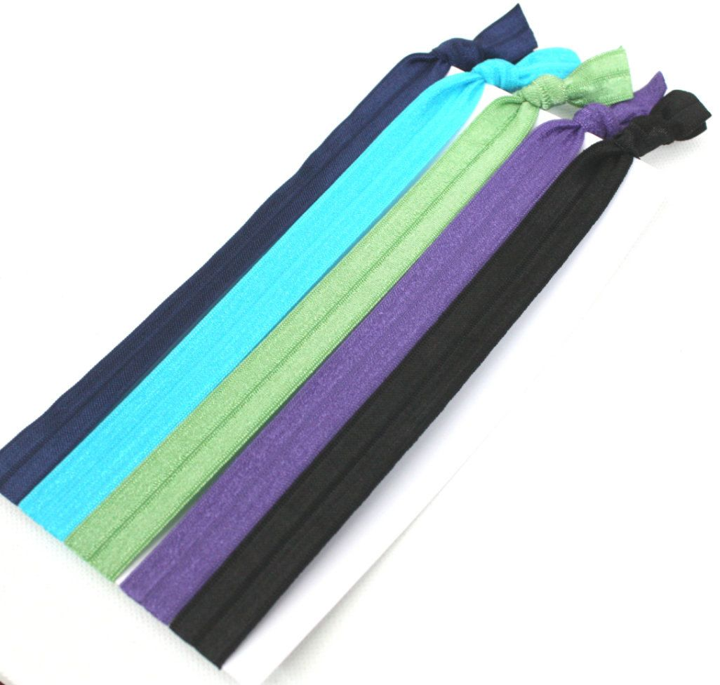 Women s Stretchy Headbands (5) - Elastic Ribbon Hair Tie Headbands - Emi Jay  Like Fabric Hairbands - Tieable Yoga Headbands.  15.50 58518180c55