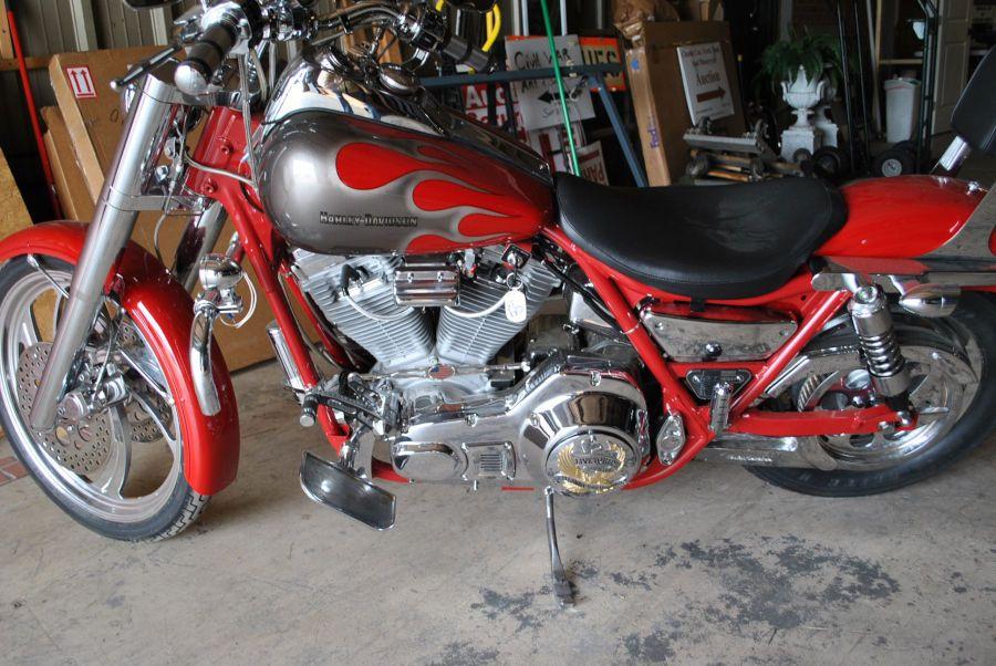 eBay: 1989 Harley-Davidson FXR $30000 Build  Nicest 1989