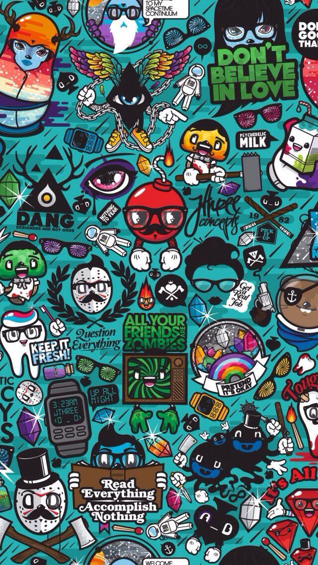 200 Wallpaper Hd Keren Doodle  Paling Baru