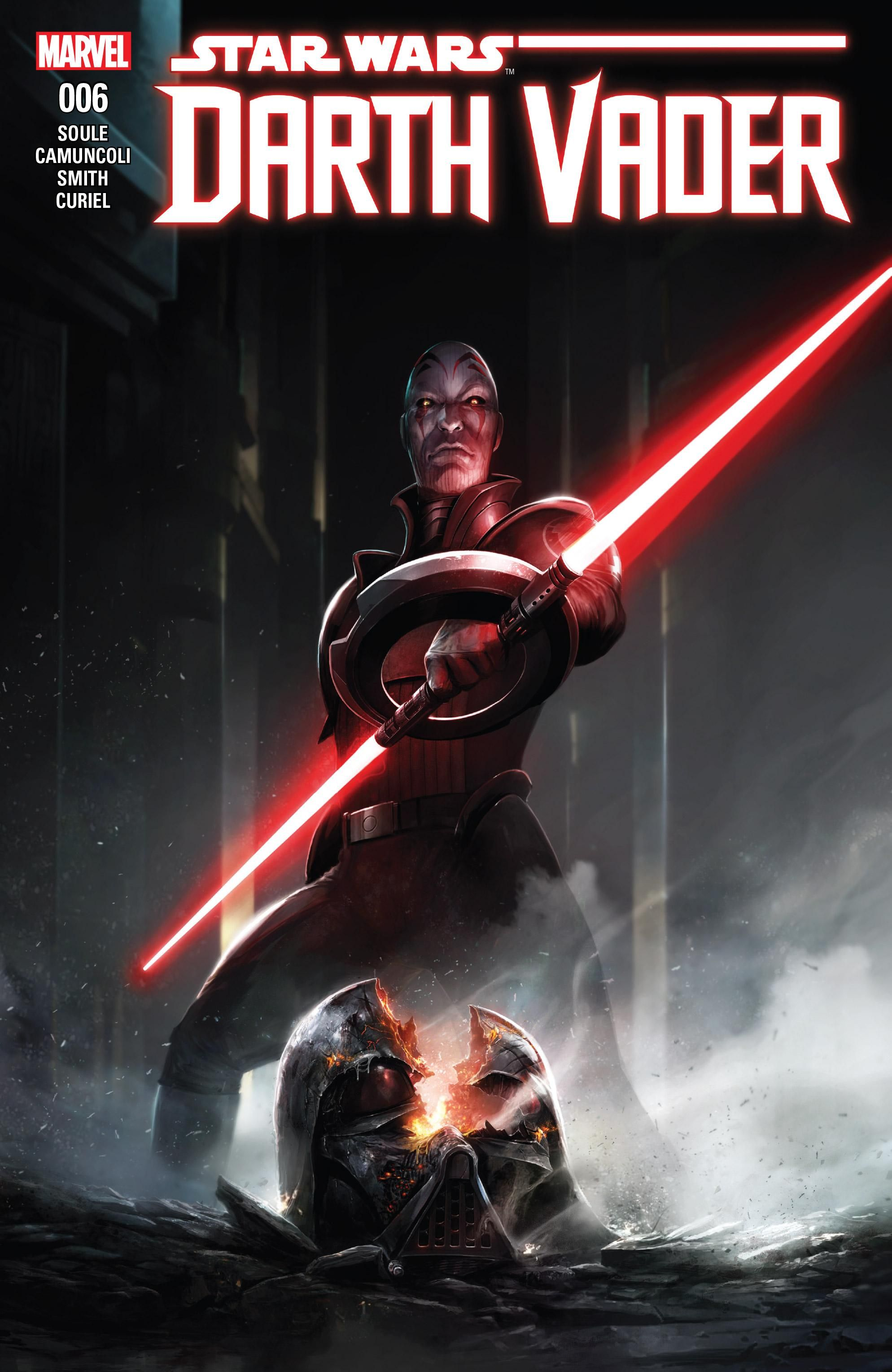 Darth Vader Dark Lord Of The Sith 6 The Chosen One Part Vi Is The Sixth Issue Of The Comic Book Series Star Wars Comics Star Wars Darth Vader Star Wars Sith