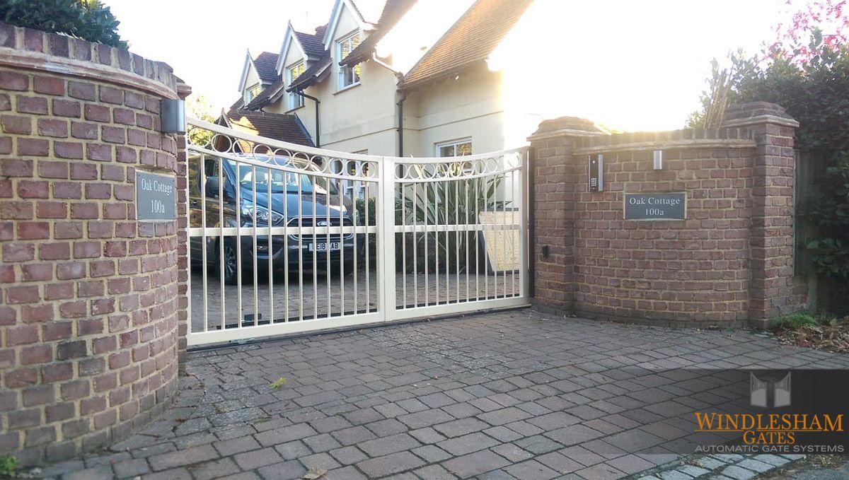 New Installation in Cobham, Surrey  Steel sliding gate