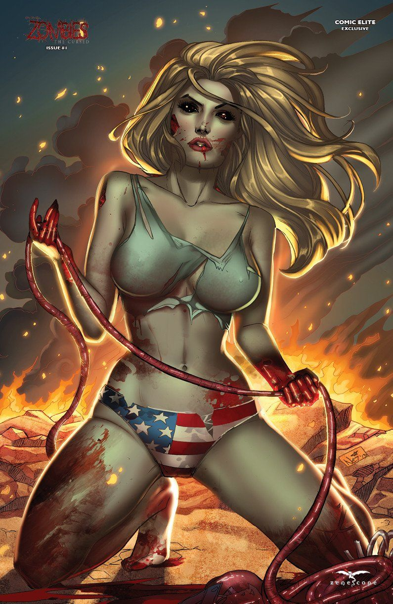 Grimm Fairy Tales: Zombies: The Cursed #1 (Cover D - Comic Elite