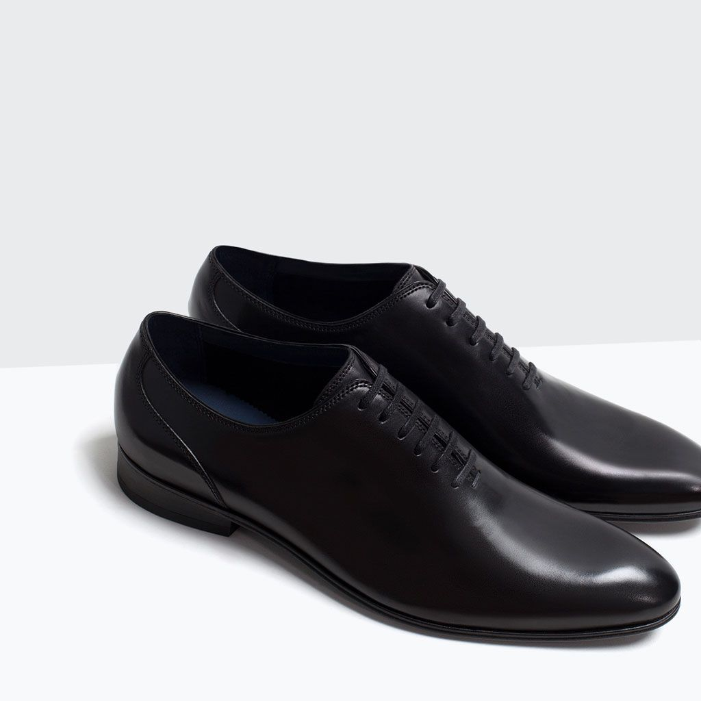 992ad36206 LEATHER SHOES-Shoes-Shoes-MAN | ZARA Turkey | fasion in 2019 | Shoes ...