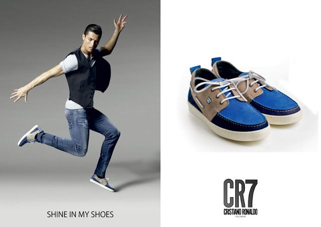 Amostras e Passatempos: Passatempo CR7 Footwear by LuxWoman
