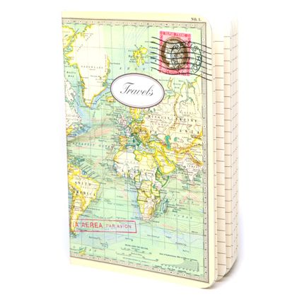 Cavallini world map notebook want pinterest cavallini world map notebook gumiabroncs