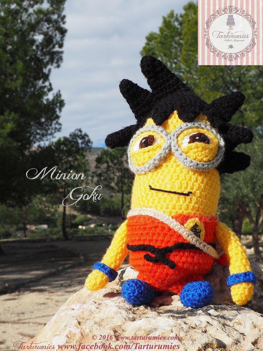 Amigurumi Patrón: Kevin Minion Goku