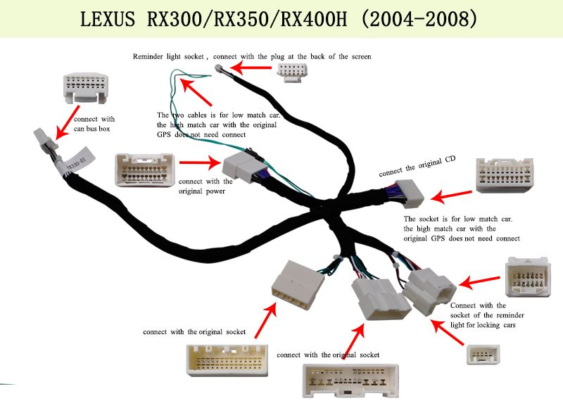 8 4 Android Car Multimedia Stereo Radio Audio Dvd Gps Navigation Sat Nav Head Unit For Lexus Rx Rx330 Rx350 Rx400h 2004 2005 2006 200 Gps Navigation Lexus Gps
