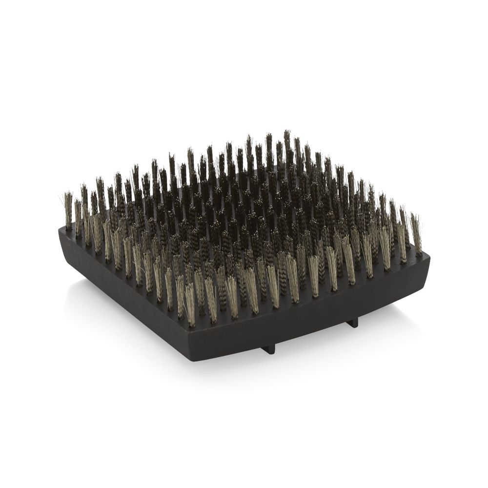 Wood Handled Grill Brush Replacement Head - Crate and Barrel | Pinterest