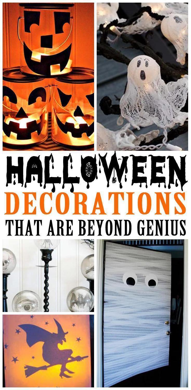20 DIY Halloween Decorations | Cheap Easy Outdoor amp; Home Decor |Halloween Par...,  #amp #C... #cheapdiyhalloweendecorations