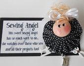 Sewing Angel Pin