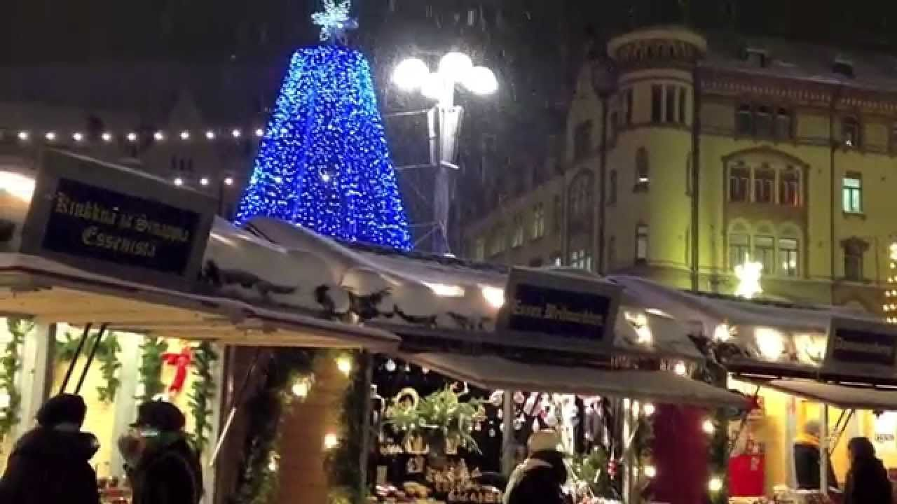 Joulutori Tampere - Christmas Market in Finland