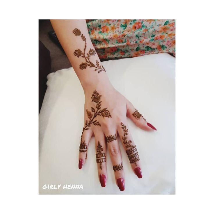 Wasiya Masrath Pretty Henna Designs Finger Henna Designs Henna Tattoo Designs