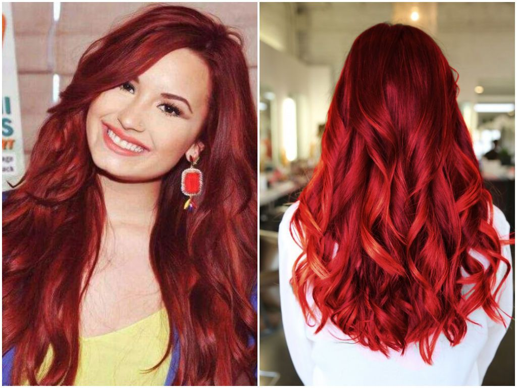 Burgundy Red Hair Color Dye - Best Color to Dye Gray Hair Check more ...