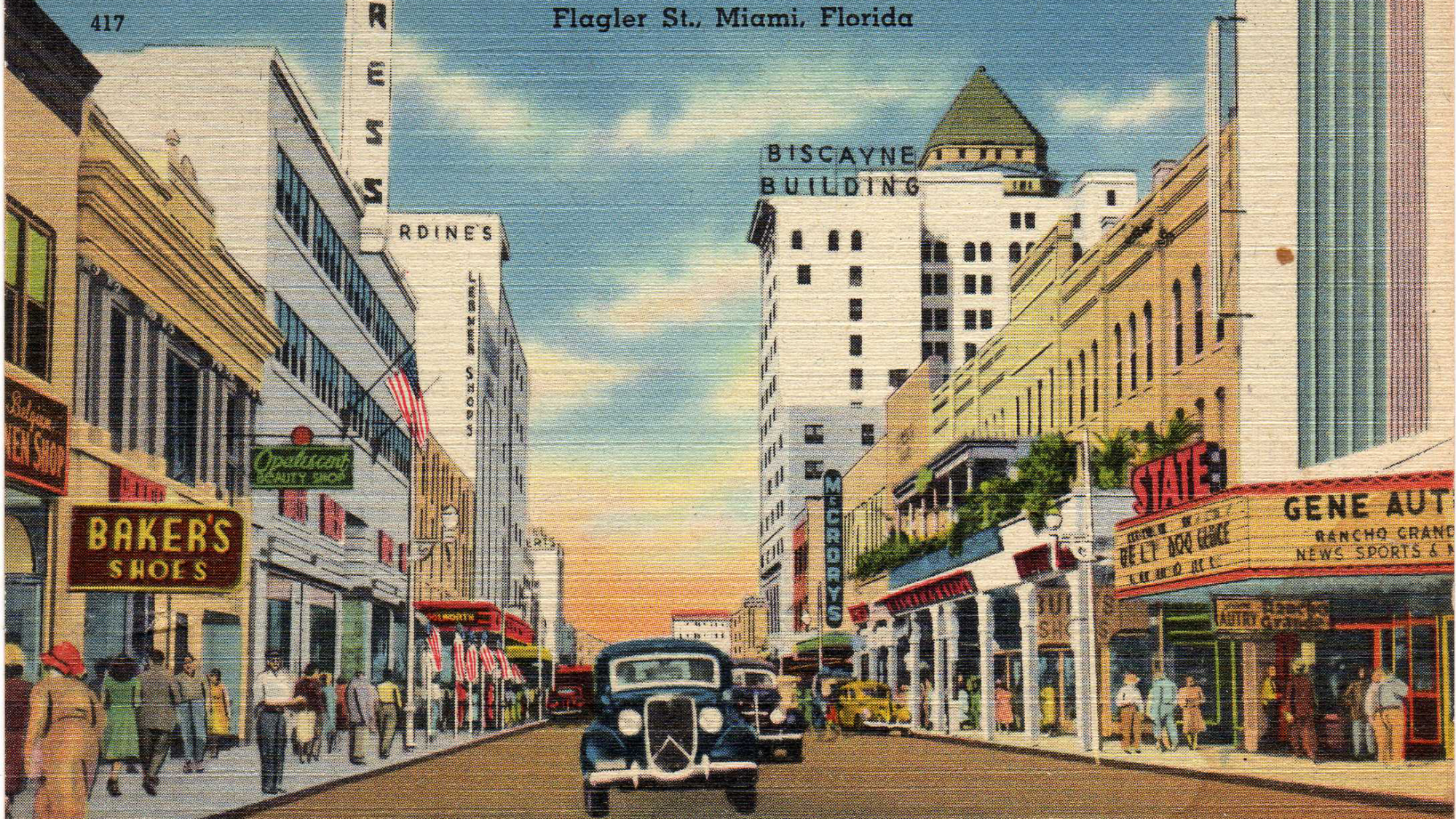 The Man Who Knows Everything About Miami The New Tropic Vintage Florida Flagler Old Florida