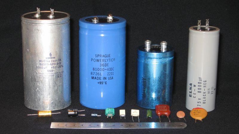 Capacitors And Capacitance Capacitors Electronics Basics Electronics Projects