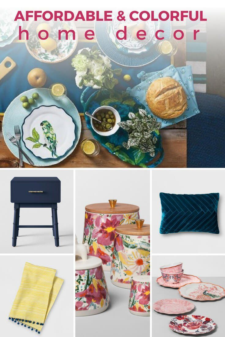 Color lovers rejoice this line of highquality colorful home