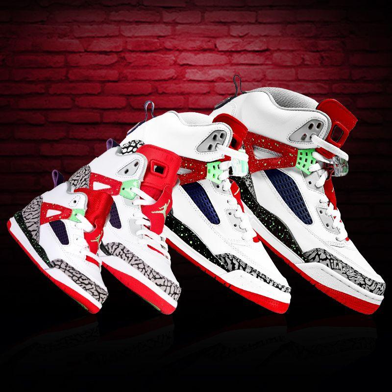 The Jordan Spizike, a fit for the whole family. Jordan