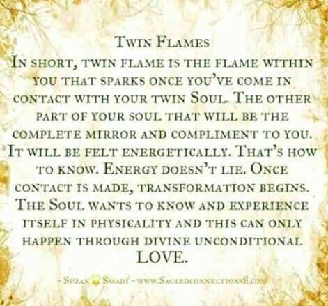 Twin Flame Contact Unconditional love is not uncomfortable ...