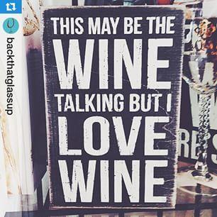 We love wine!